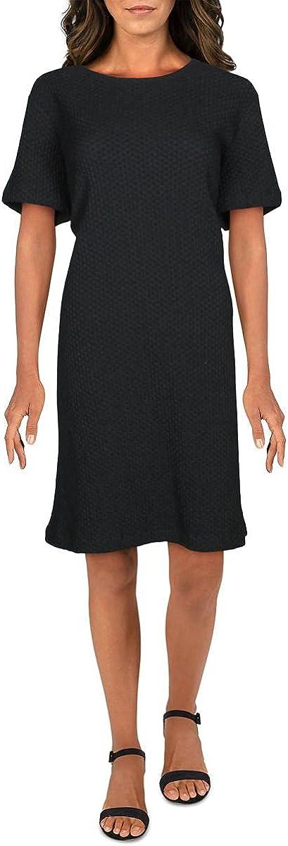 Eileen Ranking TOP18 Fisher Womens Round Max 63% OFF Dress Textured T-Shirt Neck