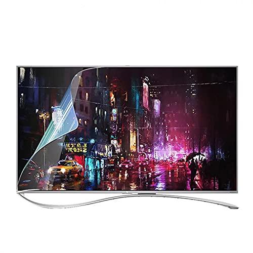 WUK Protector de Pantalla de TV Anti Blue Light de 27-50 Pulgadas, Filtro de luz Azul antideslumbrante Que Alivia la Fatiga Ocular Ultra Claro, para LCD LED OLED QLED 4K HDTV