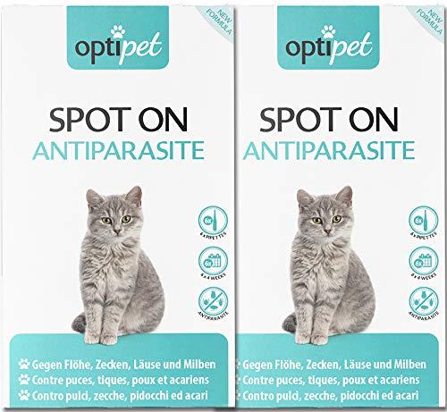 OptiPet Spot On 12x1ml Pipetten für Katzen