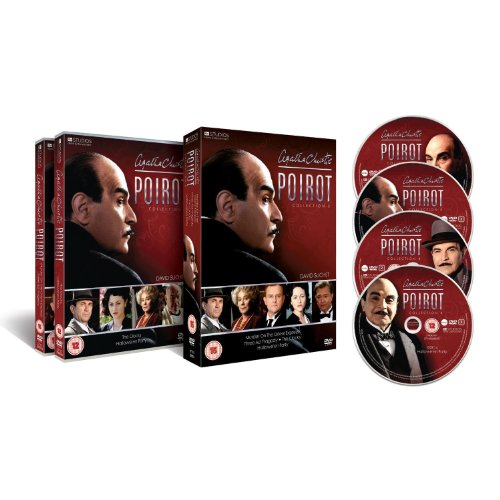 Agatha Christie's Poirot - ITV Complete Collection 8 And Exclusive Special Features (4 Disc Box Set) [DVD]