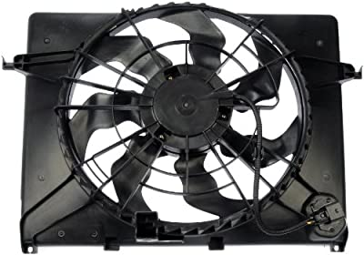 Dorman 621-477 Engine Cooling Fan Assembly for Select Hyundai/Kia Models