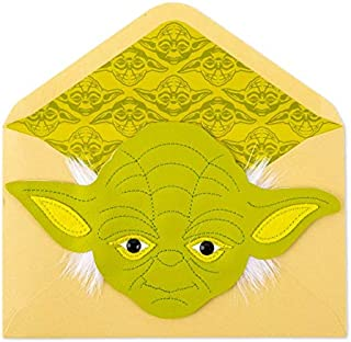 Papyrus Star Wars Grand Master Yoda Birthday Card