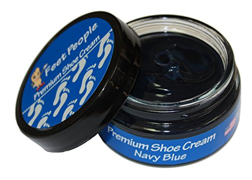 FeetPeople Premium Shoe Cream 1.5 oz, Navy