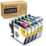 CMYBabee Cartucho de Tinta Compatible de Repuesto para Brother LC3213 LC3211 LC 3213 LC 3211 para Brother MFC-J497DW DCP-J572DW MFC-J890DW MFC-J491DW DCP-J772DW DCP-J774DW MFC-J895DW(5 Paquetes)