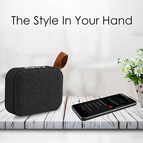 AKAI Groove Portable Bluetooth Speaker with Mic (Black)
