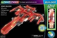 光るブロック レーザーペグ 12 in 1 宇宙船 正規品