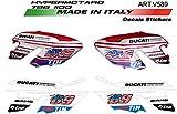 Set Pegatinas para Ducati Hypermotard 796/1100 American
