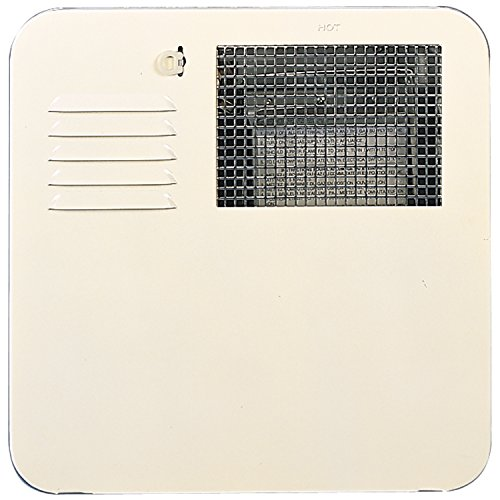 Suburban 6261ACW Radius Corner 4 and 6 Gallon Water Heater Door- Colonial White