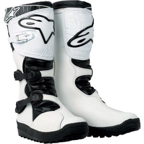 Alpinestars No Stop - Botas, color blanco, talla 13 (48)