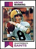 1973 Topps # 125 Archie Manning New Orleans Saints (Football Card) NM+ Saints Ole Miss