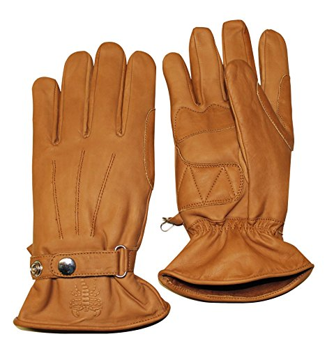 Skorpion Handschuhe Bobber braun Leder Classic, XL