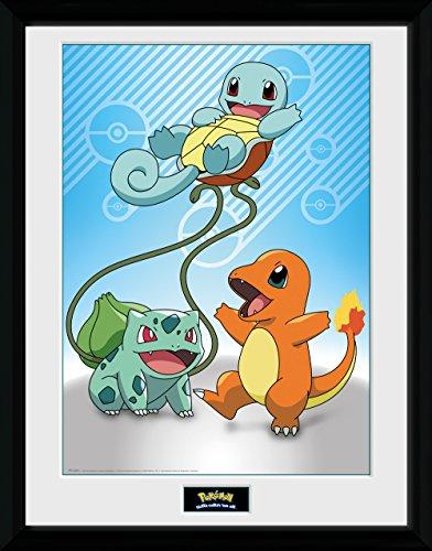 GBeye Collector Print - Pokemon Kanto Starters