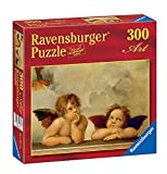 Ravensburger - Puzzles 300 Piezas, diseño Raffaello: Querubines (14002 2)