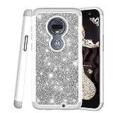 COTDINFOR Motorola Moto G7 Case For Girls Cute Diamond