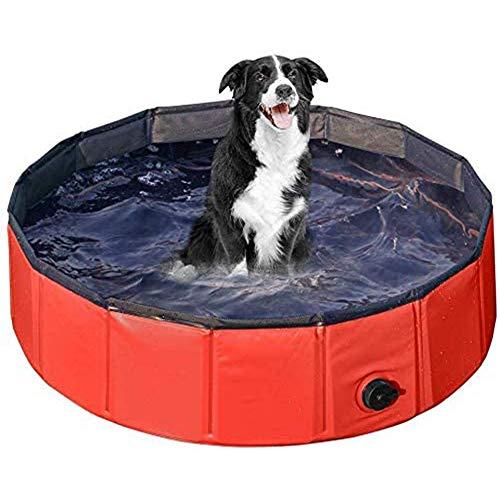 Hondenzwembad Opvouwbaar Hondenbad Voor Huisdieren Zwembad Hondenzwembad Bad Wastafel Water Vijver Zwembad Huisdierzwembad En Kinderzwembaden Voor Kinderen in De Tuin