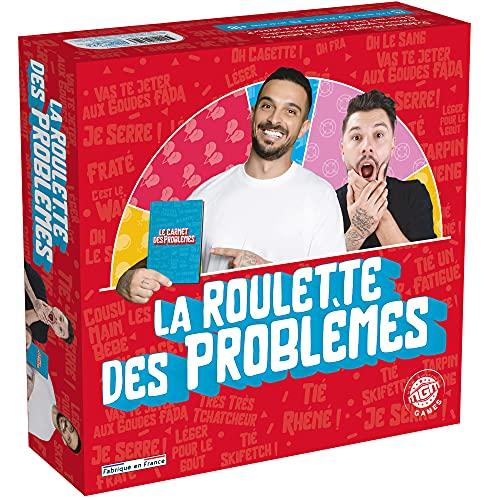 MGM GAMES - La Roulette des Problèmes - 224 Cartes - Jeu de