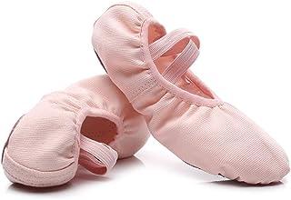 MSMAX Ballet Dance Flats Slip on Performance Shoes