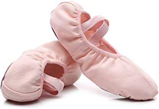 MSMAX Ballet Dance Flats Slip on Performance Shoes