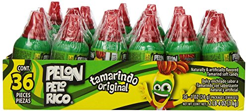 PELON PELO RICO Tamarind Candy (Pack of 36) from Hershey's