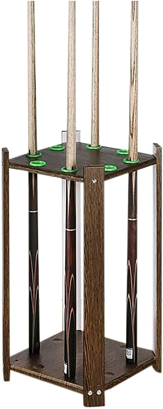 Special price for a limited time YIQQWS0915 Pool Cue Rack Floor wi Holders Cues Outlet SALE Standing Billiard