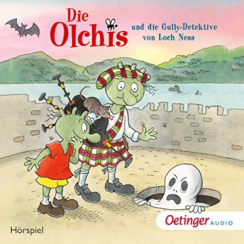 Die Olchis und die Gully-Detektive von Loch Ness cover art