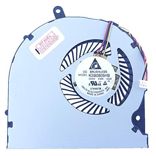 (Version 3) Lüfter/Kühler Fan kompatibel mit Medion Erazer P6661, MD60191