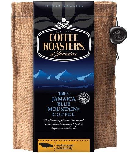 Coffee Roasters of Jamaica Blue Mountain Café Grano1lb/1454g - 3 paquetes