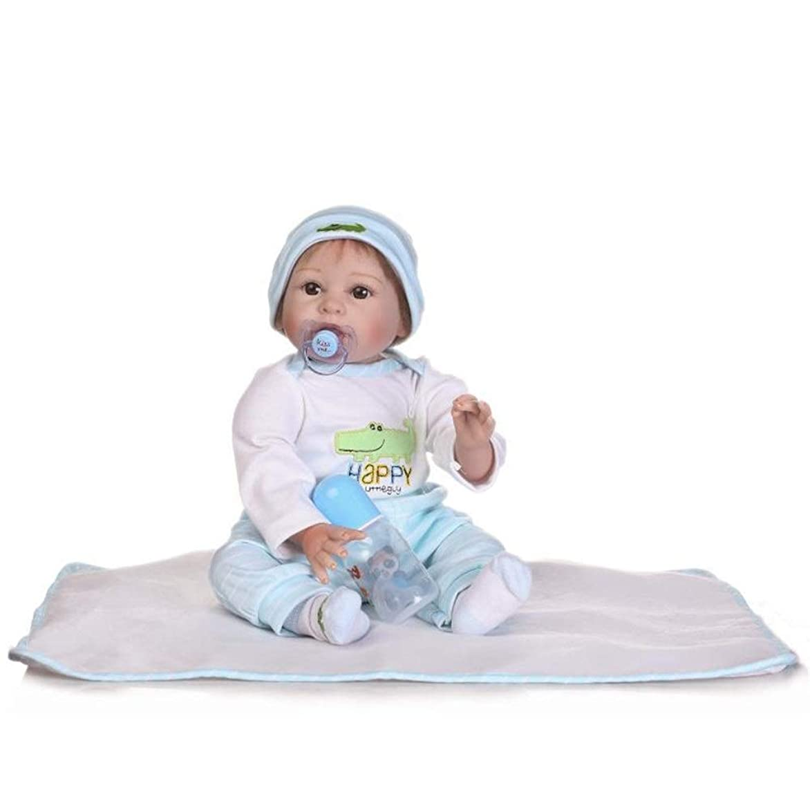 掃除予約眠るかわいい模擬赤ちゃん人形はお子様の 22