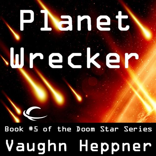 Planet Wrecker audiobook cover art