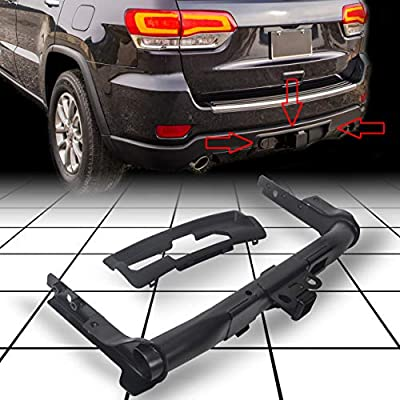 ECOTRIC Class IV 4 Hitch Receiver and Bezel for 2011-2019 Jeep Grand Cherokee Replacement for Part #82212180AC