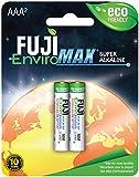 Fuji Batteries 4400BP2 EnviroMax AAA Super Alkaline Batteries (2 Pack), 1 ea