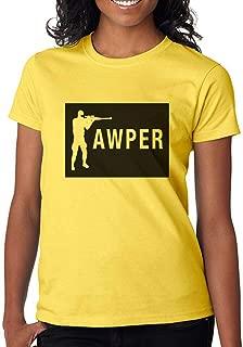 DanielDavis Gamer Fan The Awper Sniper Custom Made Women's T-Shirt