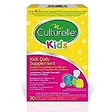 Culturelle Kids Nahrungsergänzungsmittel für Kinder 30 Kautabletten - 5 Milliarden Bakterienkulturen Lactobacillus Rhamnosus GG - Vegan - 30-Tage-Versorgung