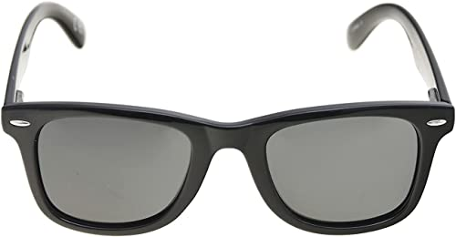lowest Foster 2021 Grant Plastic Classic Rectangle Women's Black wholesale Wayfarer Sunglasses online