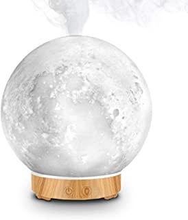 MEIDI Diffuseur d'Huiles Essentielles - Diffuseur d'Aromathérapie, Lampe de Bureau à LED Avec Fonction d'Humidification à ...