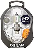 Boîte de lampes de rechange OSRAM ORIGINAL H7, lampes de phares halogènes, 12V véhicules de tourisme, CLKM H7, ensemble complet de lampes de rechange (1 pièce)