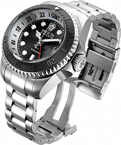 Invicta Men's 16966 Hydromax Analog Display Swiss Quartz Silver Watch