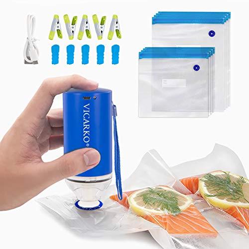 Sous Vide Bags BPA Free Reusable Food Vacuum Sealer Bags