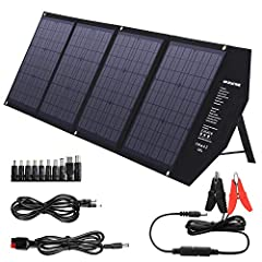 【DESIGN FOR MOST SOLAR GENERATOR】Compatible with most solar generator on the market, building up a Portable-Solar-Generator System together with SUAOKI/Jackery/Goal Zero Yeti/Enkeeo/Webetop/Paxcess/ROCKPALS power station. For smartphones and tablets(...