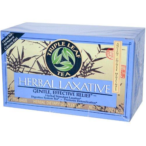 Triple Leaf Tea Herbal Laxative - 20 Tea Bags