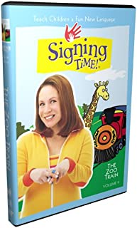 Signing Time! Volume 9: The Zoo Train