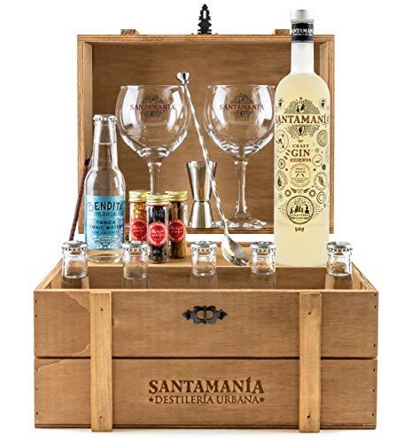 Set Gin Tonic Baule Regalo - SANTAMANIA Gin Reserva