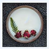 UKKO Velas aromaticas Vela con Aroma A Flores Secas Europeas Y Americanas con Cera De Soja con Vegetal, Aceite, Set De Velas Sin Humo,-B