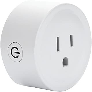 Foihsa WiFi Smart Plug, No Hub-Compatible Mini Smart Plug Socket 2.4GHz Wifi Remote Control Smart Socket Can Be Used With Amazon Alexa Echo