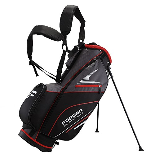 Forgan of St Andrews Super Lightweight Golf Stand Carry Bag (Red)