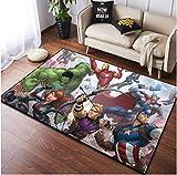 alfombra habitacion infantil superheroes