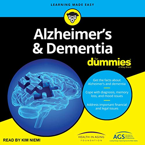 Alzheimer's and Dementia for Dummies audiobook cover art