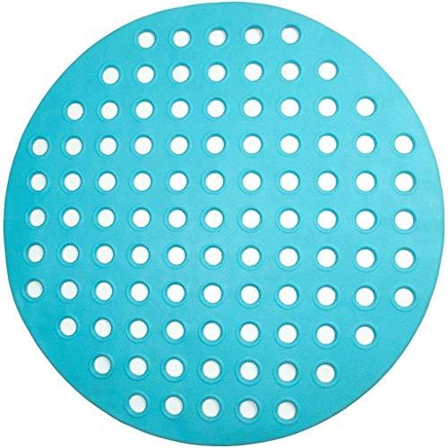Badmat, met sterke zuignap, badmatten, ronde douche badmatten antislip mat badkamer mat badkamer huishouden populaire merken mat (kleur: A, maat: 39×69cm vierkant)