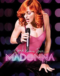 Madonna: The Confessions Tour Live from London Poster Movie 27x40 Poster Print, 27x40