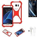 K-S-Trade® Mobile Phone Bumper + Earphones For Doogee S90